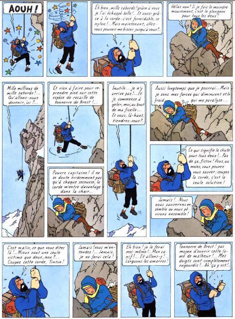 bande dessinee tintin au tibet